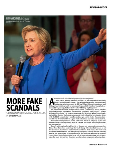 Page 23 of More Fake Scandals: Clinton Probes Discover Zilch