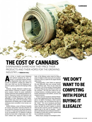 Page 83 of THE COST OF CANNABIS