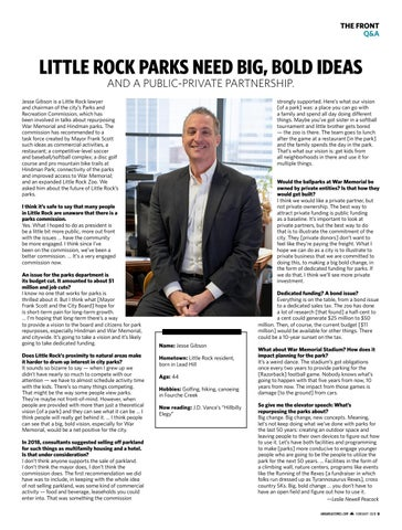 Page 9 of Little Rock Parks Need Big, Bold Ideas and a Public-Private Partnership