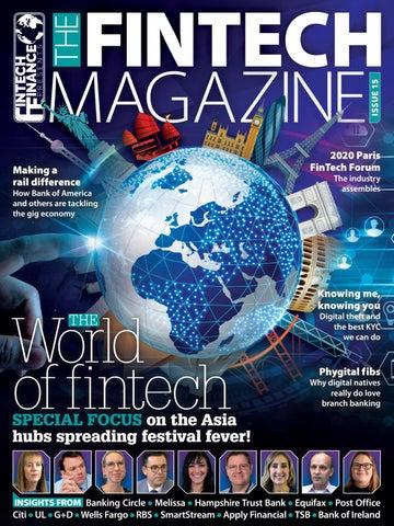 Fintech Finance presents: The Fintech Magazine Issue 15