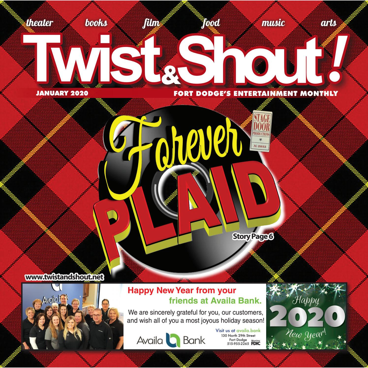 Design Bank Twist.Twist And Shout January 2020 By Newspaper Issuu