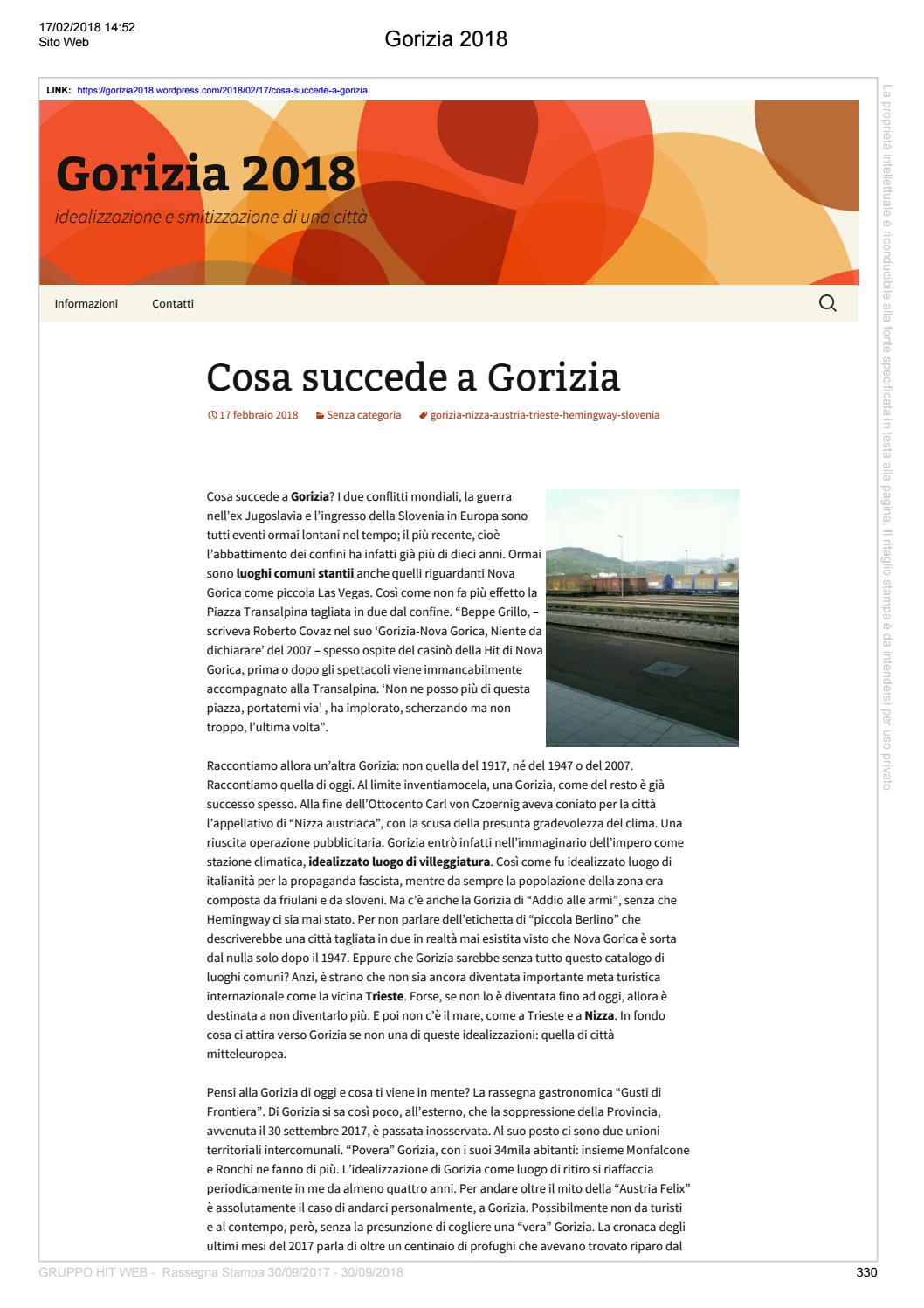 Rassegna Gruppo Hit Seconda Parte By Ufficio Stampa Issuu