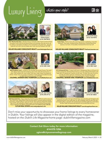 Page 43 of luxury living real estate guide