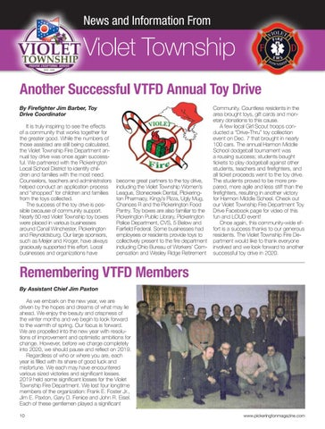 Page 10 of News and Information from Violet Township
