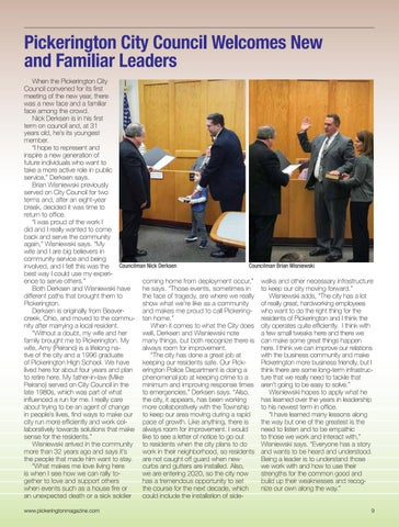Page 9 of News and Information from the City of Pickerington