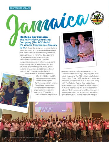 Page 22 of Jamaica Conference Update