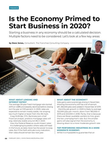 Page 46 of Is the Economy Primed to Start Business in 2020?