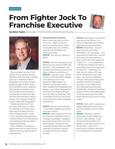 Page 56 of From Fighter Jock To Franchise Executive