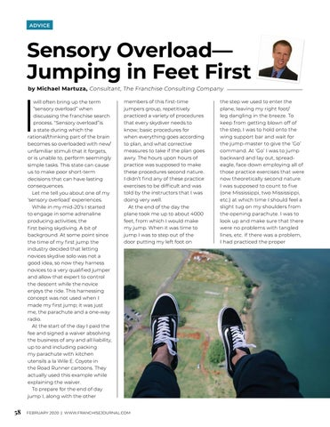 Page 60 of Sensory Overload - Jumping in Feet First