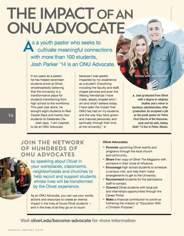Page 14 of The Impact of an ONU Advocate