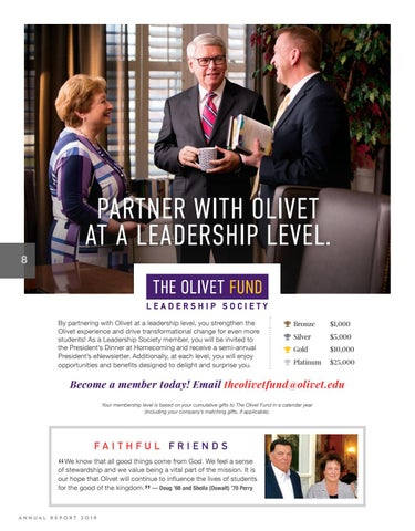Page 8 of The Olivet Fund