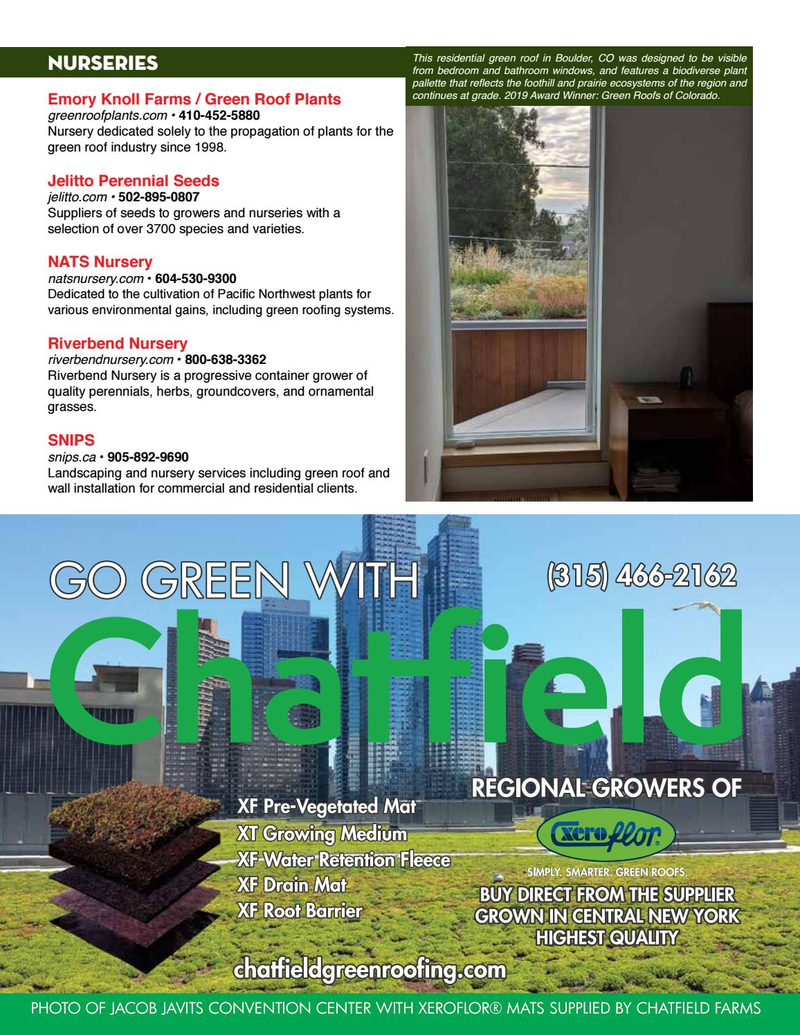 Green Pages Green Roof Wall Industry Directory By Green Roofs