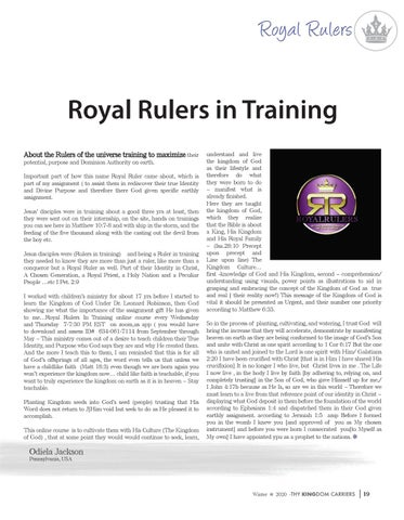 Page 19 of Royal Rulers
