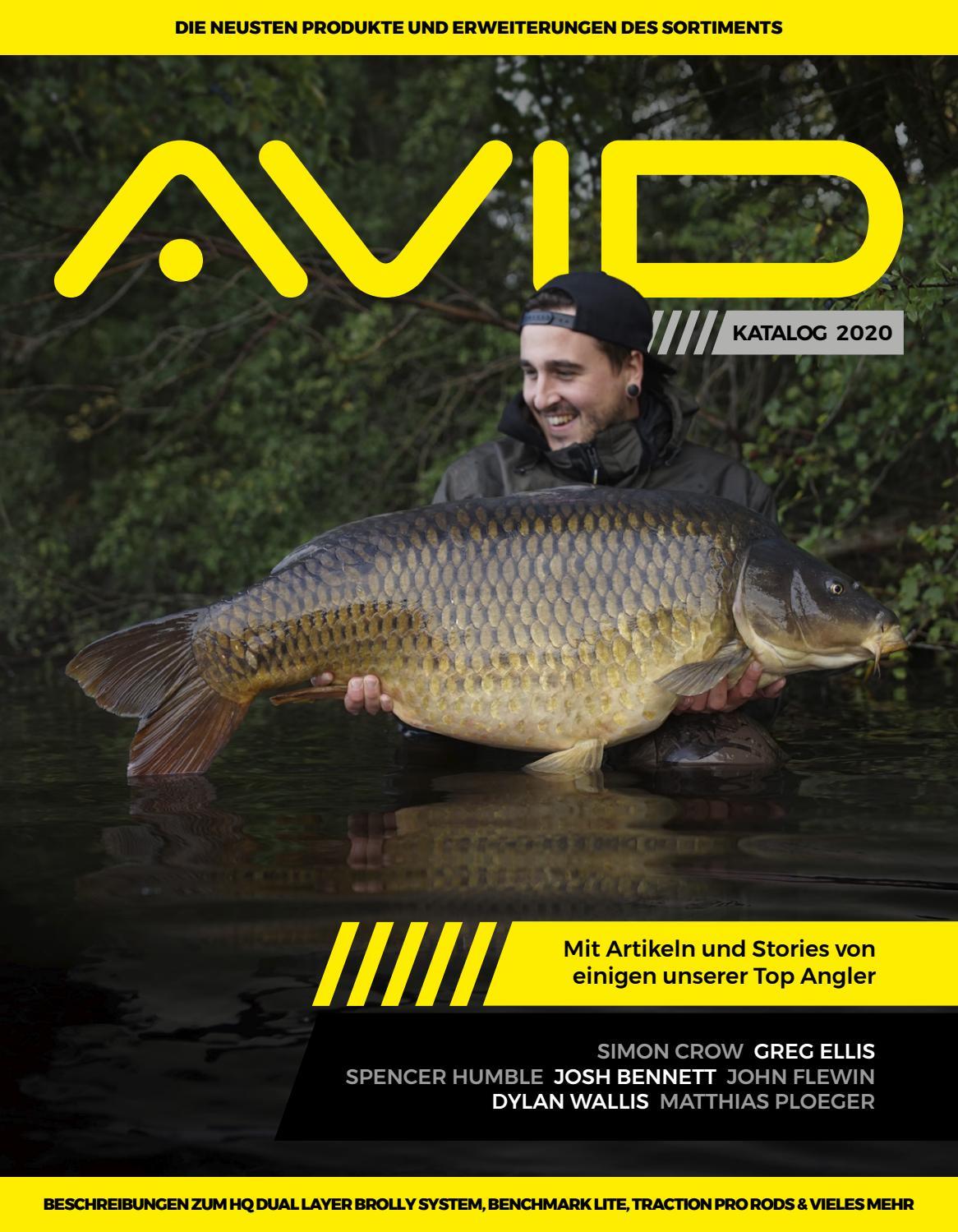 Avid Carp Outline Ring Swivels Size 8 A0640008 Wirbel TOP//NEU