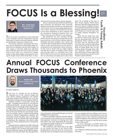 Page 11 of FOCUS Conference Coverage