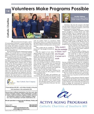 Page 14 of Volunteers Make Programs Possible