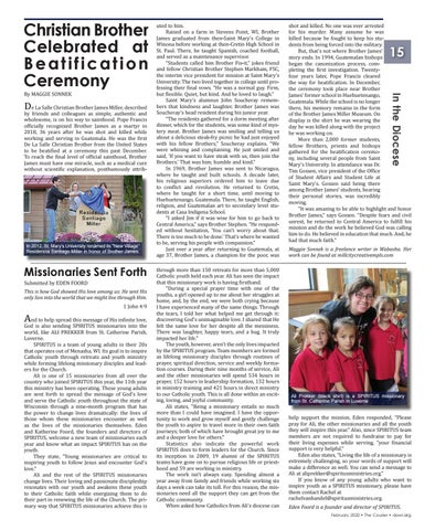 Page 15 of Diocesan Headlines