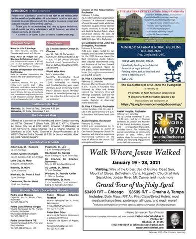 Page 19 of Diocesan Calendar