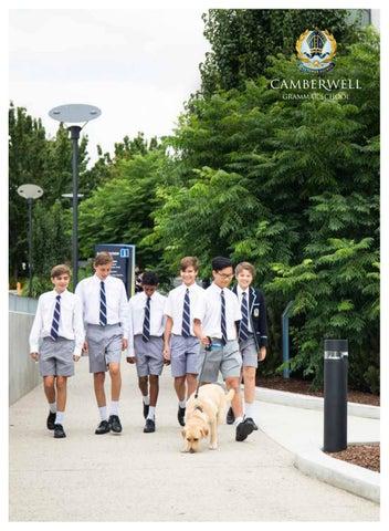 Grammarian 2019 By Camberwell Grammar School Issuu