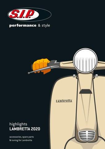 CASA LAMBRETTA GP NEW DL  CHROME HEADLIGHT RIM