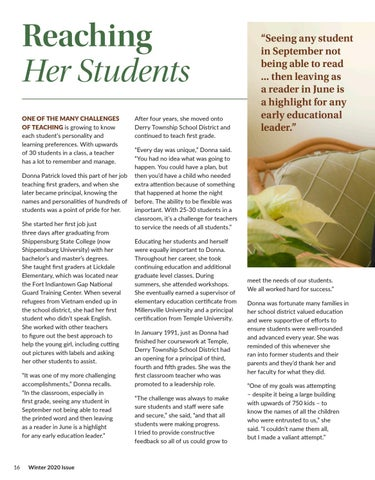 Page 16 of Reaching Her Students