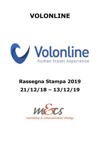 Rassegna Volonline Prima Parte By Ufficio Stampa Issuu