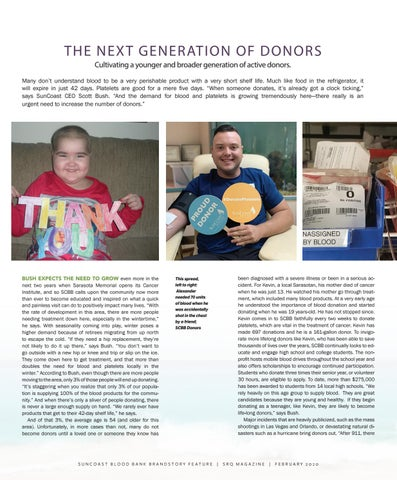 Page 2 of THE NEXT GENERATION OF DONORS