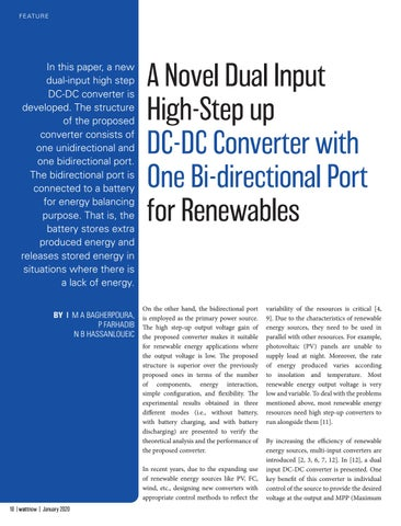 Page 18 of A Novel Dual Input High-Step up DC-DC Converter with One Bi-directional Port for Renewables