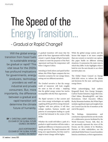 Page 26 of The Speed of the Energy Transition...
