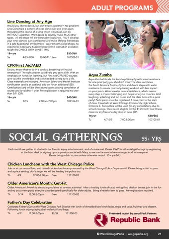 Page 23 of Adult Programs / 55 & Over