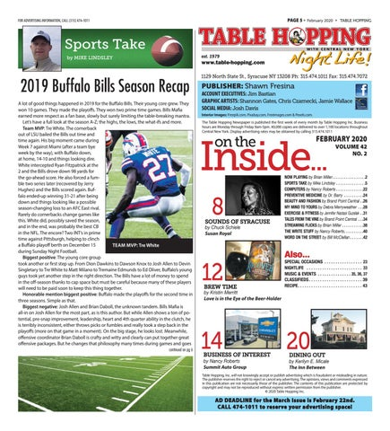 Page 5 of SPORTS TAKE by Mike Lindsley