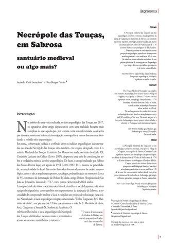 Page 9 of Necrópole das Touças, em Sabrosa