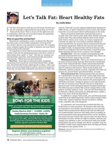 Page 20 of Fit Families: Let's Talk Fat: Heart Healthy Fats Joella Baker