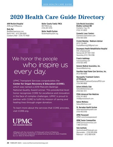 Page 24 of 2020 Health Care Guide Directory