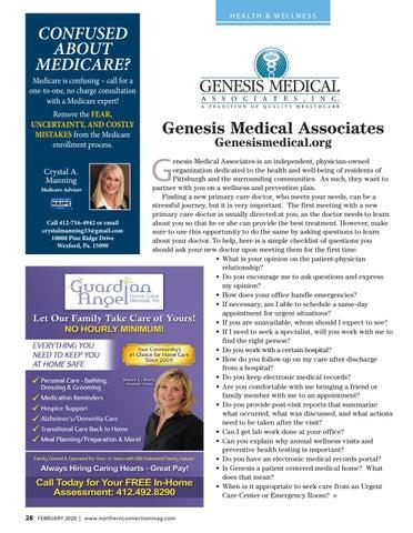 Page 30 of Genesis Medical Associates