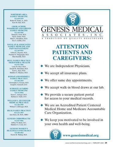 Page 31 of Genesis Medical Associates