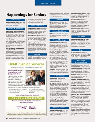 Page 34 of Happenings for Seniors