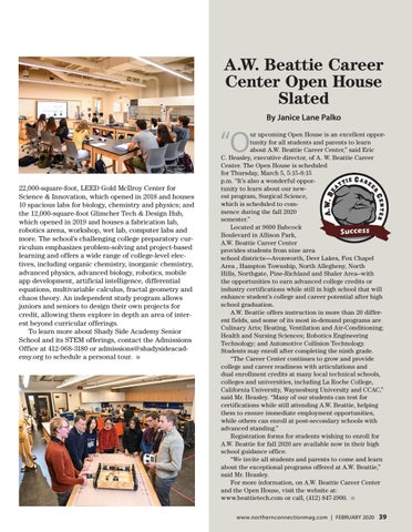 Page 41 of A.W. Beattie Career Center Open House Slated