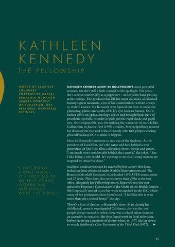 Page 71 of KATHLEEN KENNEDY – THE BAFTA FELLOWSHIP