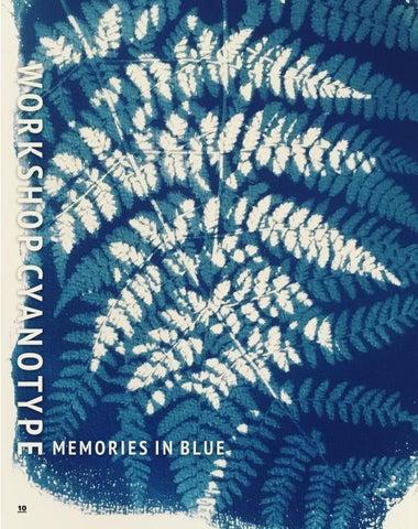 Page 10 of MEMORIES IN BLUE WORKSHOP CYANOTYPE