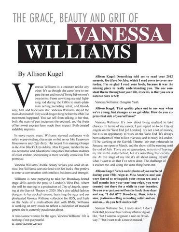 Page 16 of VANESSA WILLIAMS