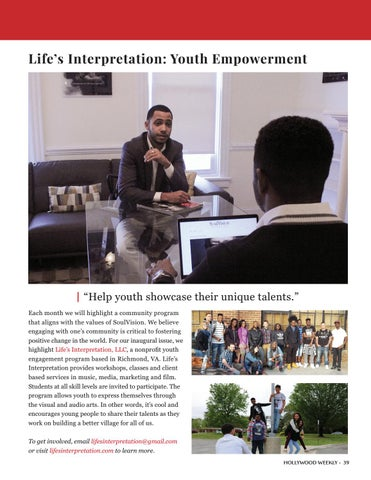 Page 39 of SOUL VISION MAGAZINE