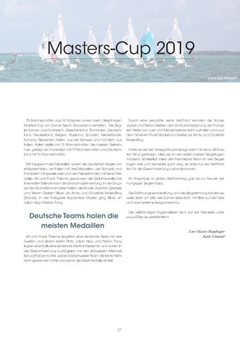 Page 21 of MASTERS WM ITALIEN