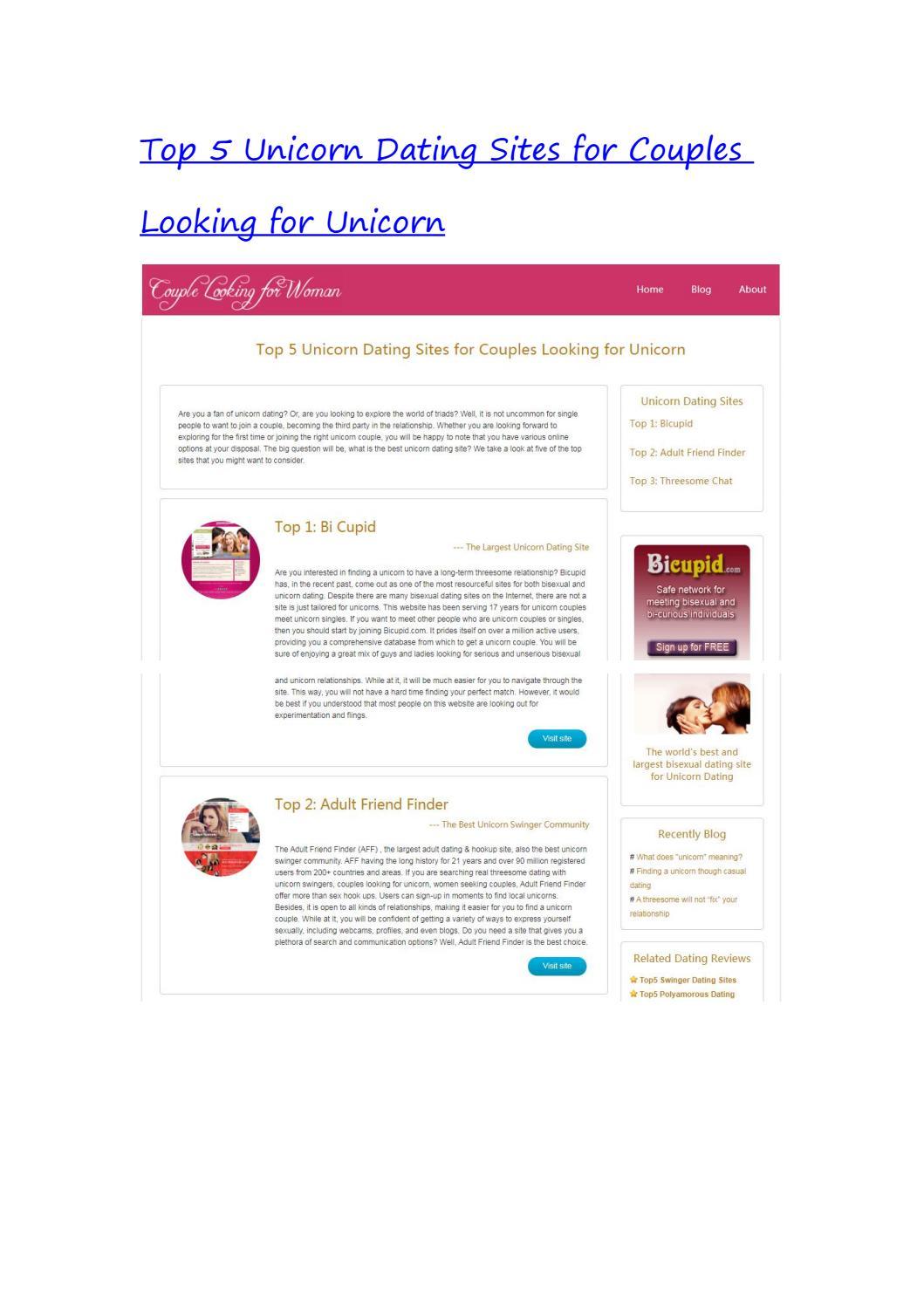 unicorn dating site)