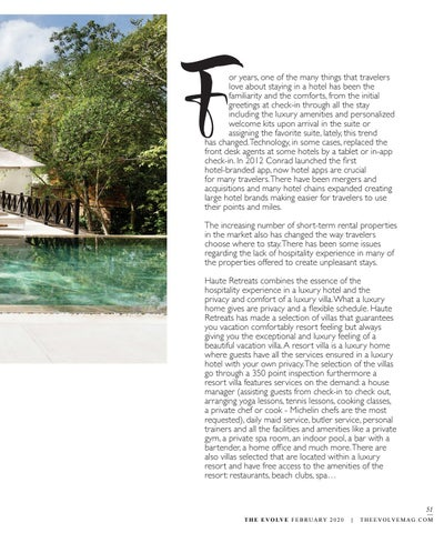 Page 51 of Resort Villas by Haute Retreats: Personal Luxury Vacation