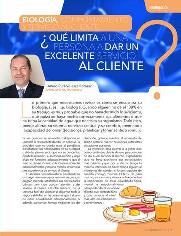 Page 13 of BIOLOGÍA, COMPORTAMIENTO Y SERVICIO AL CLIENTE: ¿ QUÉ LIMITA A UNA PERSONA A DAR UN EXCELENTE SERVICIO AL CLIENTE