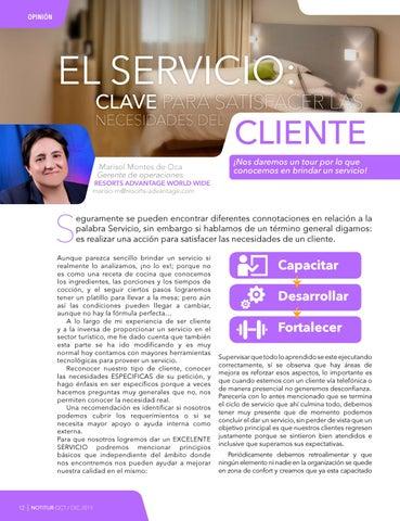 Page 14 of EL SERVICIO: CLAVE PARA SATISFACER LAS NECESIDADES DEL CLIENTE