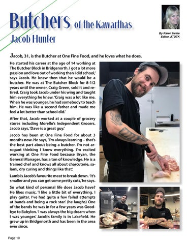 Page 10 of Butchers of the Kawarthas Jacob Hunter