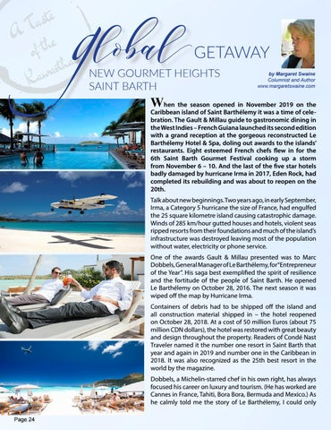 Page 24 of GLOBAL GETAWAY - Saint Barth