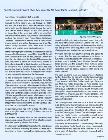 Page 25 of GLOBAL GETAWAY - Saint Barth